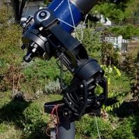 さんかく座銀河M33と1994年製のシュミットカセグレン望遠鏡 2016年11月5日