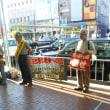 6月15日八木駅前で抗議宣伝