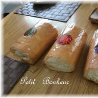 クローバー*ファミリー1~ロールパン&ロールケーキ