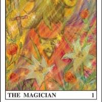 170626タロットマジシャンイラスト。Photoshop。the tarot。The Magician。