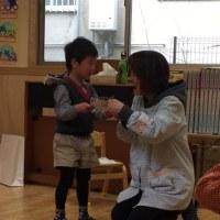 幼稚園の修了式