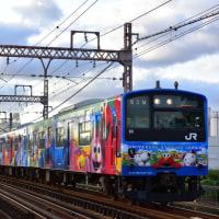 早朝の桜島線