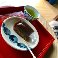 いちじく、いちご、クルミ入りお羊羹 Wagashi asobi