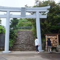 親子神社参拝旅行で彌彦神社を正式参拝