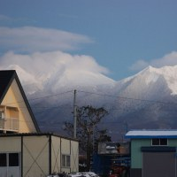 上富良野町からの眺望:11月24日2016