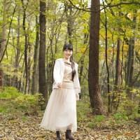 赤城の森でのモデル撮影