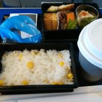 沖縄 ⇒ 羽田 ANA プレミアムクラス で ランチ