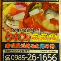お持ち帰り専門の海鮮丼・宮崎「丼丸」