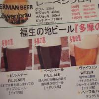 「シュトゥ-ベン・オ-タマ」にて~ドイツビール!