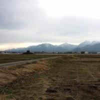 冬の鈴鹿山脈