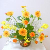 春の花でファーンレッスン♪