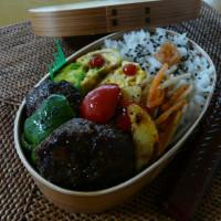 お弁当(ハンバーグ・バルサミコ醤油ソース)