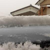 今 初雪は~北丹沢山の麓・青野原