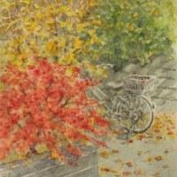 絵「お隣の庭の小さい秋」