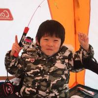 朱鞠内湖ワカサギ釣り2017