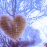 アクリル仕立ての落下雪(ラッカセツ)