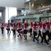 鼓笛隊演奏in品川駅