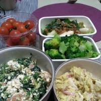 常備菜 作りおき  焼き芋サラダ他