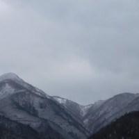 今日の比良山