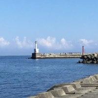 穏かな日本海(富山湾)