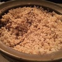 初めての玄米ご飯