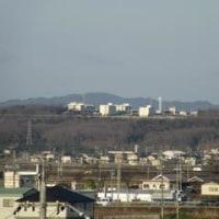 よく晴れた朝-青野原駐屯地遠望
