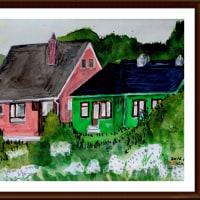 愛蘭土旅行シリーズ その21 ゴールウェイ郊外の住宅