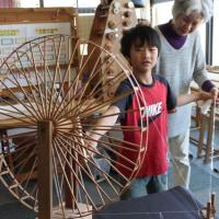 僕は手織り体験のリピーター    竹島クラフトセンター