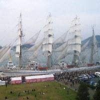 ★北九州港に訪れた大型帆船を観に行ってきました★