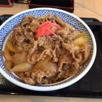 吉野家 牛丼 大 550円で空腹を満たす