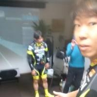 第1回TeamUKYOインドアサイクリングwith Zwift