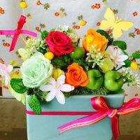 花きこう  4月プリザーブドフラワー