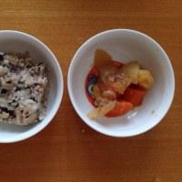 今日の離乳食(晩御飯)【140日目】