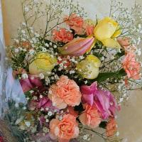 綺麗な花束!