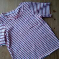 形にだけなりました・・・・90サイズTシャツ~♪  &  アジの酢〆 & ジンケンエビ♪