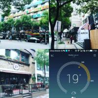 雨が降らないと24度もあったりして・・・ #上海