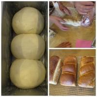 寒い中「パン教室」に行き四種類の食パンを習って来ました。