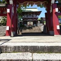 神社仏閣巡り㉑ in篠崎八幡神社 卯月