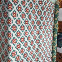 ジャガード織とプリント生地