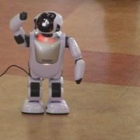 人と同じように会話する介護ロボット「パルロ」導入