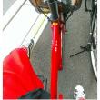 真っ赤な自転車 真っ赤なパンツ