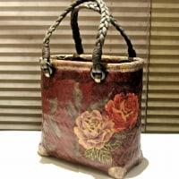 【2月のお買い得】一閑張のバッグや小物入れ 15~20%OFF