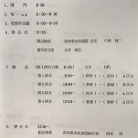1/29 JO四国ブロック予選会 組み合わせ