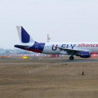 香港エクスプレス U-FLY塗装機 FUK