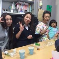 じゃ~ん2017年初声歯科恒例大恵方巻き大会~番外編~ぱちぱち~
