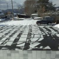 今日の雪かき