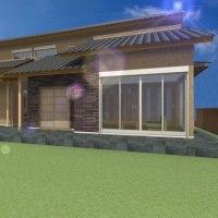 (仮称)おおらかに暮らしを包み込む数寄屋の家新築計画・和モダンと和風建築の設計デザインの工夫として「シークエンス」のデザインで想像感を連続させる奥行を空間へ与える様に。