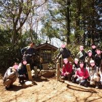 2017年4月23日 某社野外活動部の皆さんと高野三山を歩く  高野山は桜満開!