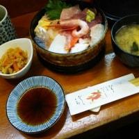 成田経由大洗で海鮮丼♪