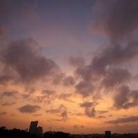 【今朝の空】